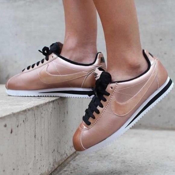 Rose Gold Nike Cortez women s size 9.5. M 5a9e3b866bf5a6765e48bfc2 720ac726b9